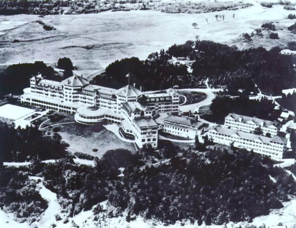 Hotel Bretton Woods, New Hampshire, EEUU.