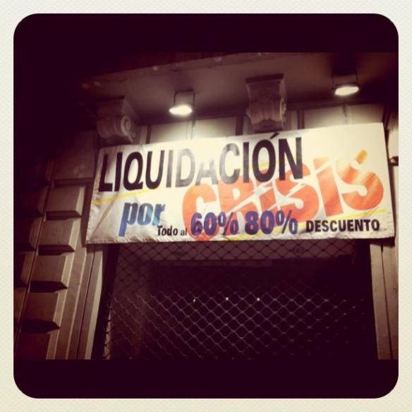 Liquidación por crisis